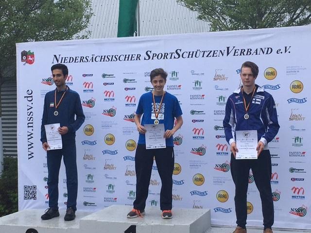 Felicitamos a Facu Firmapaz por su medalla de oro